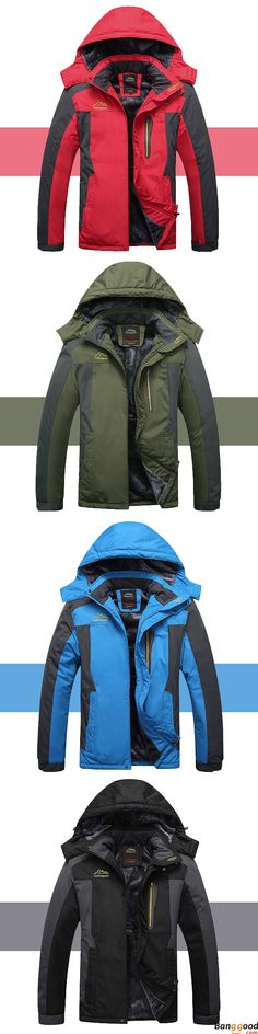 4d84092e38a Epic Low Price + Free Shipping. Mens Outdoor Waterproof Windproof Fleece  Plus Thick Warm Mountaineering
