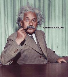 Albert Einstein, Color, Colour, Colors