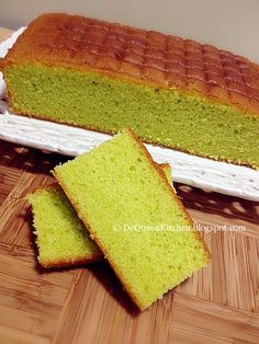 .Making Food with Love.: Pandan Butter Cake