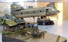 5 Model Railroad Accessories You Must Have To Add Realism To Your Layout Plastic Model Kits, Plastic Models, Scale Models, Hot Wheels, Military Action Figures, Military Helicopter, Military Guns, Military Modelling, Military Diorama