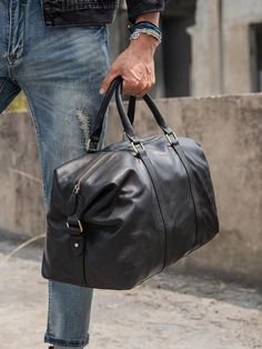 More Info, Visit Official Website – PNDME casual high quality genuine leather men hand travel bag designer real cowhide large capacity blac. Satchel Backpack, Backpack Travel Bag, Leather Backpack, Mens Travel Bag, Leather Men, Black Leather, Handbags For Men, Casual Bags, Luggage Bags