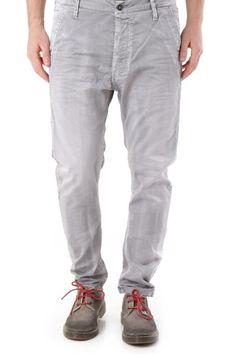 Pantaloni Uomo Absolut Joy (VI-P2476) colore Grigio