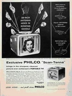 Tv ad from 1957