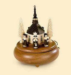 Wooden Erzgebirge Music Boxes - A great gift for all occasions