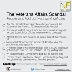The Veterans Affairs Scandal