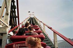 Imagen de fun, Roller Coaster, and vintage