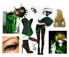 """Ben Drowned"" by a-sirens-song61 ❤ liked on Polyvore featuring Tripp, Sergio Rossi, Nintendo, Isabel Marant, women's clothing, women's fashion, women, female, woman and misses"