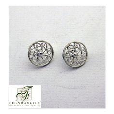 Southern Gates Pinwheel Post Earrings