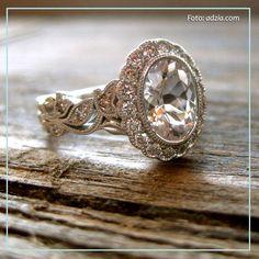Anillo estilo vintage, anillo de compromiso, engagement ring