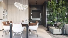 Renderings of a contemporary apartment with classic elements in Moscow by ONI Architects - CAANdesign | Architecture and home design blog