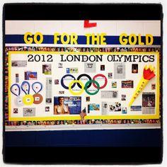Go for the GOLD! Olympics Bulletin Board