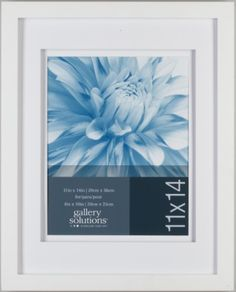 Gallery Solutions White Wood Wall Frame with White Airfloat Mat, 8 by 10-Inch Pinnacle Frame,http://www.amazon.com/dp/B0096NJVE8/ref=cm_sw_r_pi_dp_cVTbtb0YJFW2DCD2