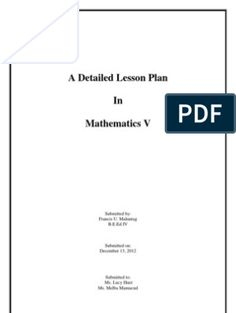 Semi-Detailed Lesson Plan in Mathematics Reading Lesson Plans, Science Lesson Plans, Teacher Lesson Plans, Reading Lessons, Science Lessons, Lesson Plan Examples, Lesson Plan Templates, Grade 1 Lesson Plan, School Report Card