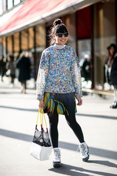 Pin for Later: The Best Street Style Snaps From Paris Fashion Week PFW Day Three Susie Lau