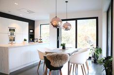 Humble Abode, Minimalism, Sweet Home, Modern Kitchens, Dining, Kitchen Inspiration, Interior, Table, Furniture