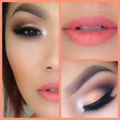 Summer Smokey Eye makeup