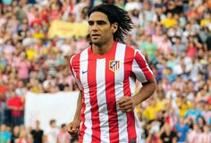 """R. Falcao Garcia (Colombia) el tigre! Atletico de Madrid's tiger of the field is one of the best number """"9"""" today, and his goal scoring mentality will have any defender shaking with fear."""