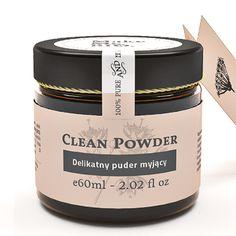 Clean Powder-delikatny puder myjący 60 ml Make Me Bio