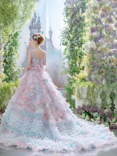 beautiful costume ball gown wedding dress ドレス 夜会服 robe платье ballkleid vestido princess and pauper Beautiful Costumes, Beautiful Gowns, Fairytale Dress, Fairy Dress, Dream Dress, Pretty Dresses, Wedding Gowns, Wedding Outfits, Ball Gowns