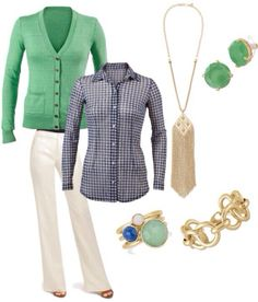 love blue and green together #stelladotstyle #ootd