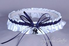 Custom New York Yankees Wedding Garter by sugarplumgarters on Etsy, $27.99