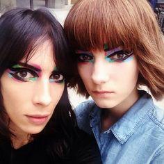 chanel backstage makeup