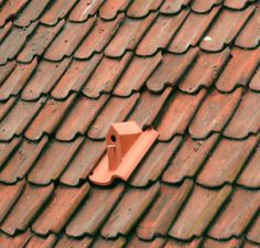 Birdhouse rooftiles