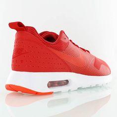 wholesale dealer b82d9 88a2e nike AIR MAX TAVAS rouge blanc Nike Pour Homme, Veste, Toile, Chaussure