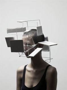 Some people can see the other worlds Nathalie Du Pasquier, Justine, Dramatic Lighting, Fashion Mask, Body Adornment, Types Of Art, Type Art, Matte Painting, Installation Art