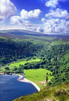 Wicklow Mountains, south of Dublin, Ireland