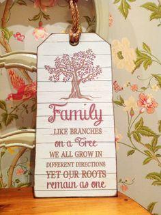 Family Tree Print Family Tree Sign leaving gift by SugarPrintFairy
