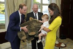 "Pin for Later: A Guide to Kate Middleton's Many Royal Tour Facial Expressions The ""Yep, Another Stuffed Animal"""