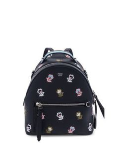 3f5036646fa1 FENDI Floral-Embroidered Leather Backpack.  fendi  bags  leather  backpacks