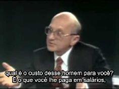 Milton Friedman em Entrevista Clássica - parte 1 de 3 - YouTube