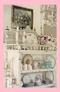 Lot de 10 x Porcelaine Blanche//Chine armoire Tiroir Boutons Floral Chintz 40 mm