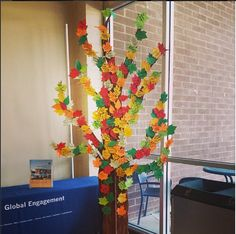 International Language tree as of September 5, 2013. Each leaf represents a different language that our SCC students speak. Coordinated by SLF, they are encouraging everyone who speaks a different language to add a leaf to the blooming tree!