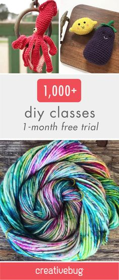 Don't forget to check off those creative projects from your summer bucket list. And what better way to do that than by checking out this list of over 1,000 DIY Classes from Creativebug. Click to get your 1-month free trial now!