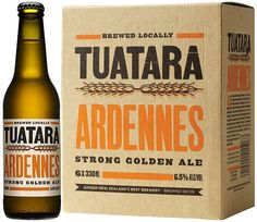 Tuatara Beer Packaging