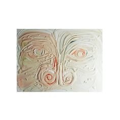 """Coke nose"", 60 × 80 cm, yogurt on marble flooring, 2017    #contemporaryart #gabrielbendandi"