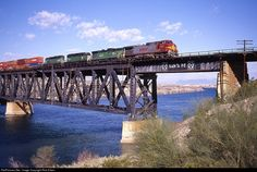 RailPictures.Net Photo: 767 Burlington Northern Santa Fe GE C44-9W (Dash 9-44CW) at Topock, Arizona by Rick Erben