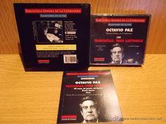 OCTAVIO PAZ. BIBLIOTECA SONORA. ESCRITORES EN SU VOZ. 3 CDS + LIBRO / PRECINTADO / DIFÍCIL.