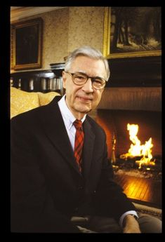 Mr. Fred Rogers' Dartmouth Commencement Address 2002.  Not exactly Marquette '01, but close enough!
