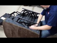 Learn How to fix recliner chair mechanism like an expert! Here you can get 10 ways that will help you to fix your recliner chair problem DIY at home. Diy Yard Furniture, Modern Wood Furniture, Reupholster Furniture, Furniture Repair, Couch Repair, Diy Couch, Home Repairs, Recliner, Upholstery