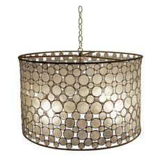 Kitchen Drum Light Orange Rug 107 Best Lighting Images Dining Rooms Oly Pendant Shell