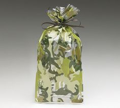 Camoflauge ARMY Soldier Cello Treat Goodie Bags