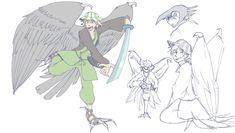 Bird People, Minecraft Fan Art, Cartoon Games, Pretty Art, Dream Team, Drawing Reference, Art World, Techno, Youtubers