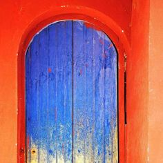 Colorful Doors // Do you know the meanings and cultural associations with colors in Latin America?