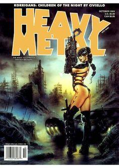 vaporwave portada Heavy Metal vol 1 2 - Sorcery Speecial Arte Heavy Metal, Heavy Metal Comic, Heavy Metal Girl, Metal Art, Sci Fi Horror, Horror Comics, Metal Magazine, Magazine Art, Magazine Covers