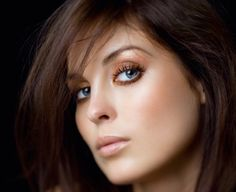 Hair Color for Fair Skin Blue Eyes - Best Hair Color for Dark Skin Women Check more at http://www.fitnursetaylor.com/hair-color-for-fair-skin-blue-eyes/