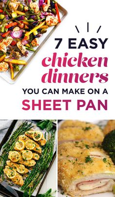 7 Easy Chicken Dinners You Can Make On A Sheet Pan